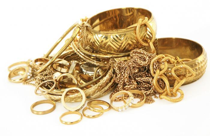 Золото пробы 585 (14 К)