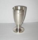 Сребърна чаша за ракия