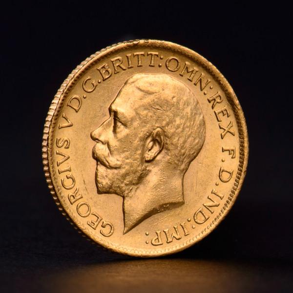 Британски суверен Джордж V