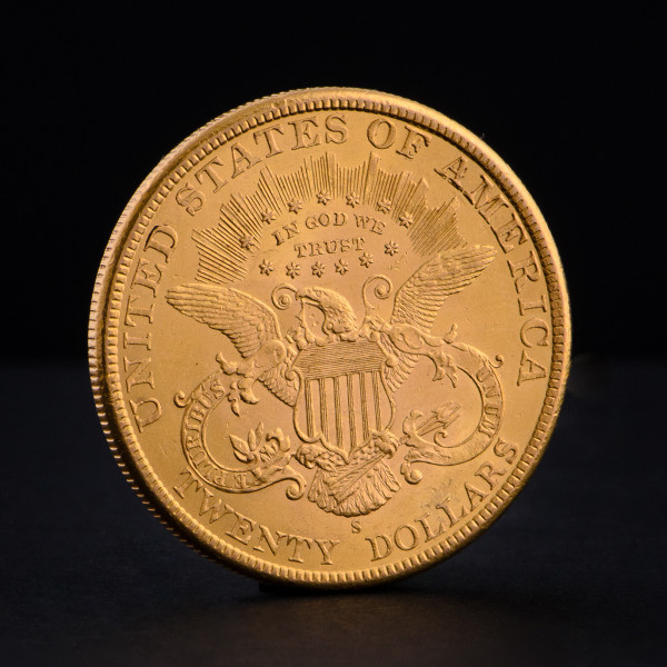 20 USD - Двоен орел 1873