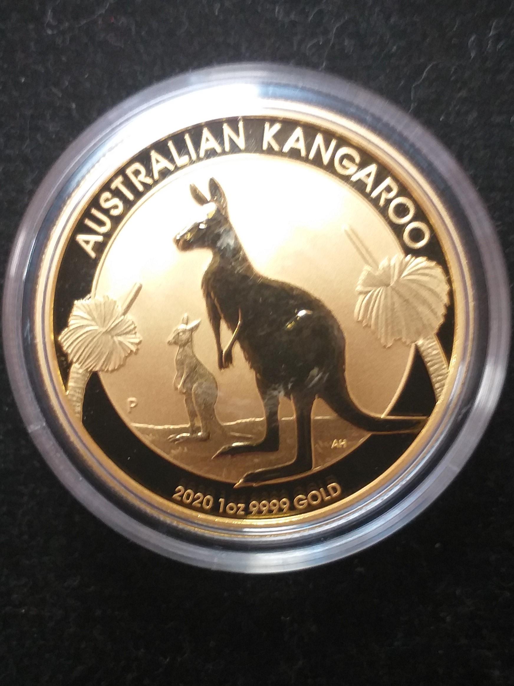 Австралийско кенгуру 1 тройунция