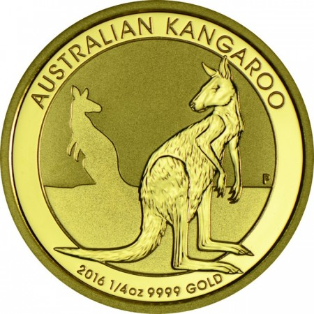 Австралийско кенгуру 1/4 тройунция