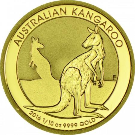 Австралийско кенгуру 1/10 тройунция