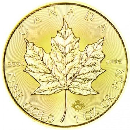 Канадски кленов лист 1 тройунция
