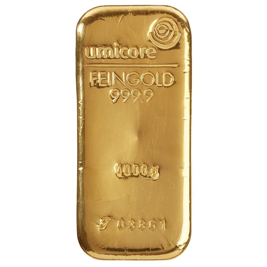 Златно кюлче 1000 г