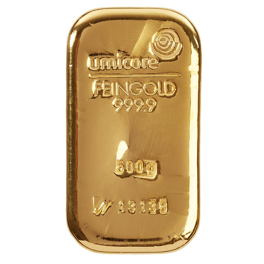 Златно кюлче 500 г