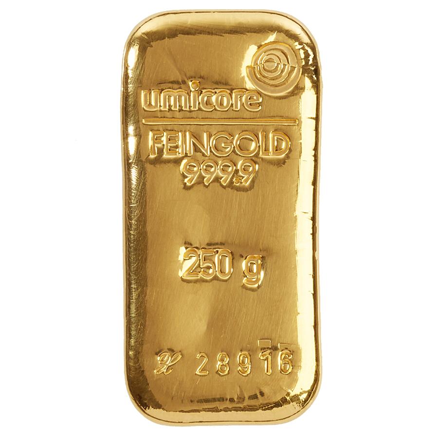 Златно кюлче 250 г