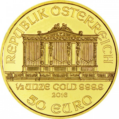 Philharmonic orchestra of Vienna 1/2 troy ounce