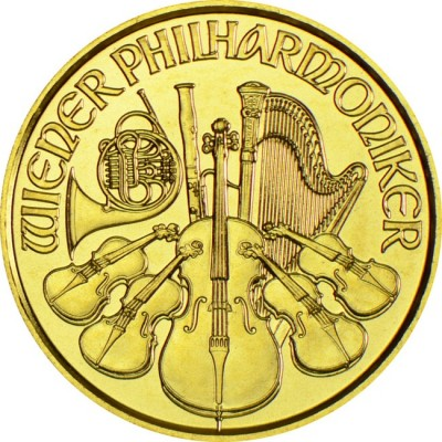 Philharmonic orchestra of Vienna 1/4  troy ounce