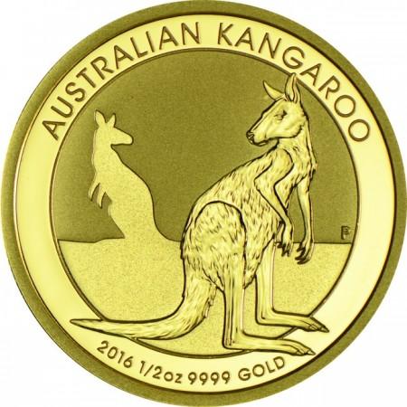 Australian kangaroo  1/2  troy ounce