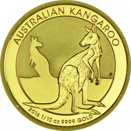 Australian kangaroo  1/10  troy ounce