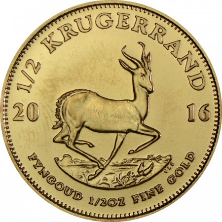 Krugerrand 1/2 troy ounce