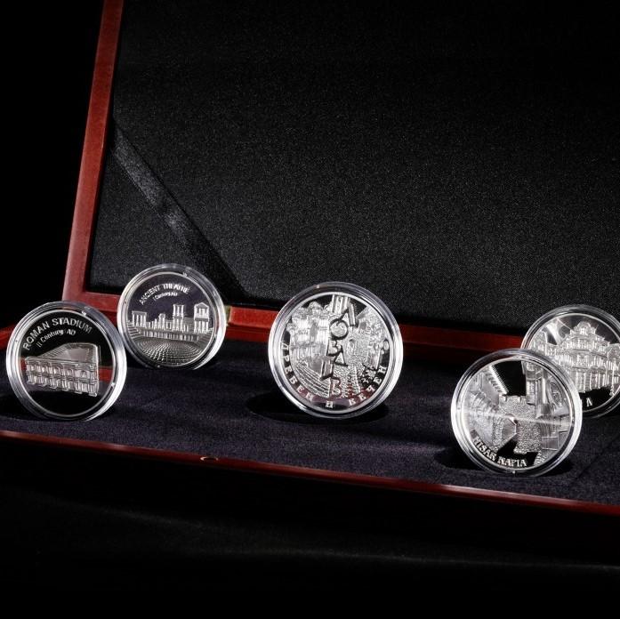 Колекция сребърни медали #Заедно, 5 броя